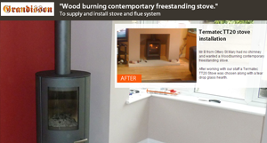 Stove fitter Exeter
