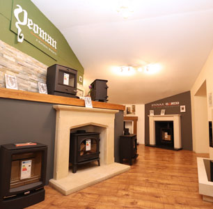 Stove Showroom Devon